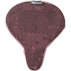Basil Bohème Saddle Cover fig red
